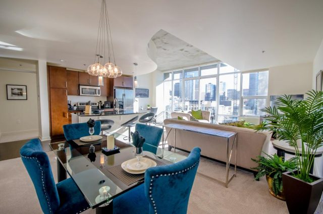 short stay serviced apartment