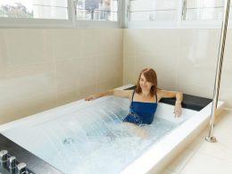 install a bathtub