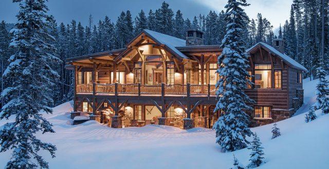 luxury homes in Montana